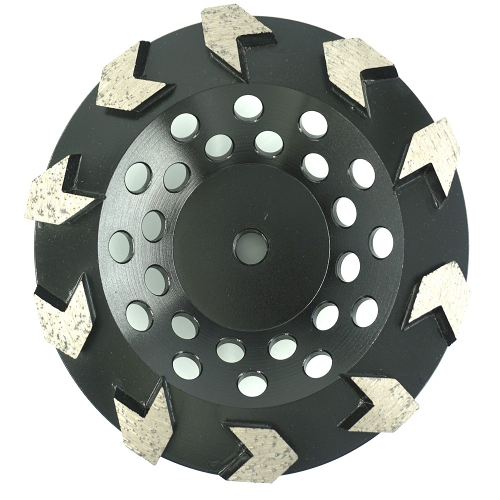 Arrow Segmented Cup Wheels