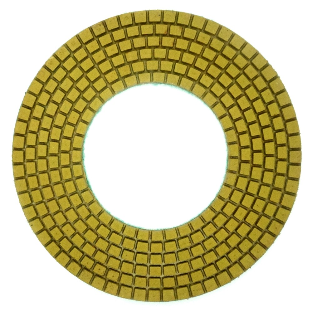 7in Ring Type Concrete Polishing Pads-Wet